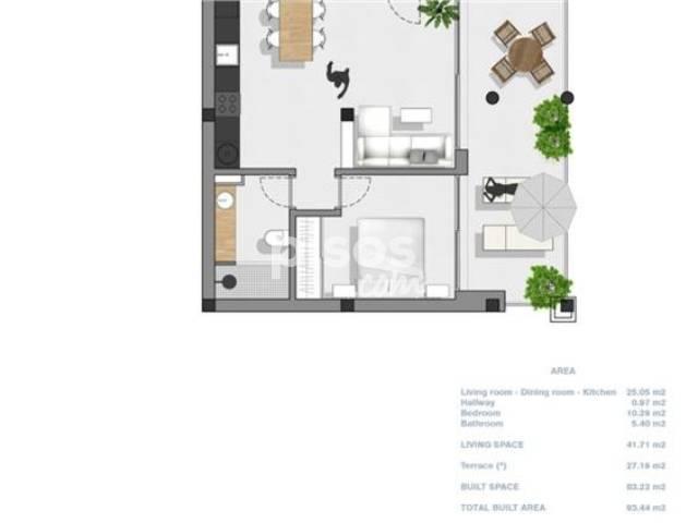 Apartamento en venta en Sant Josep de Sa Talaia, Zona de - Sant Josep de Sa Talaia, Sant Josep de sa Talaia por 265.000 €