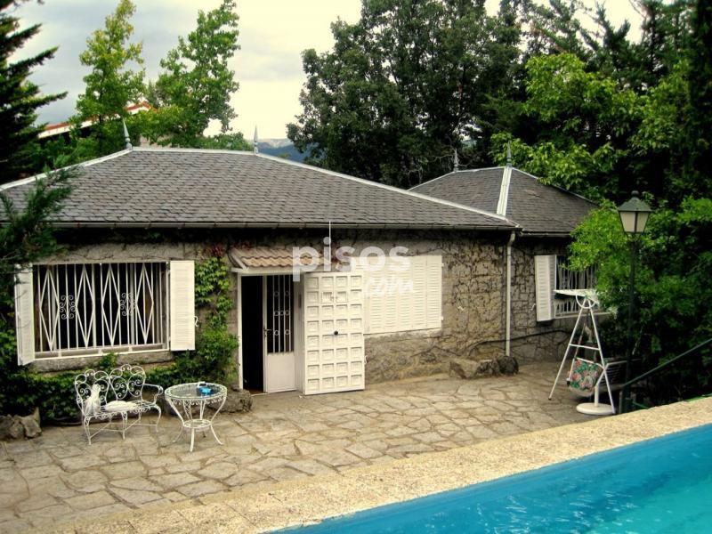 Casa unifamiliar en venta en los cerrillos en cercedilla - Casas en cercedilla ...