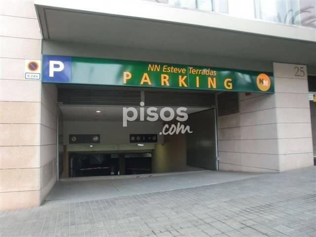 Garaje en alquiler en Barcelona-Sarria S.Gervasi Esteve Terradas,17-21 Plaza 25 Sotano B, Vallcarca i els Penitents (Distrito Gràcia. Barcelona Capital) por 76 €/mes