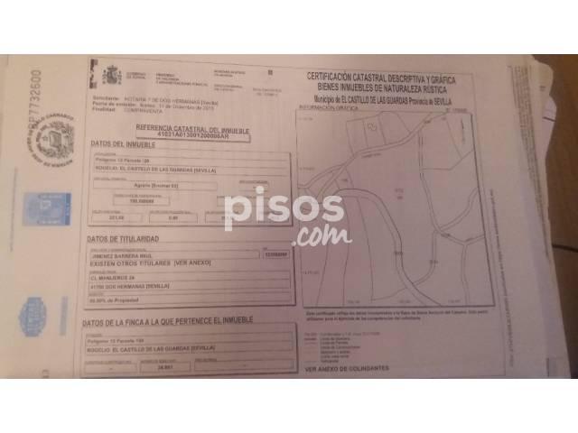 Terreno en venta en Avenida Carretera Aznalcollar, nº 24, El Castillo de Las Guardas por 85.000 €