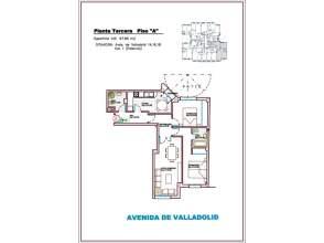 Piso en Avenida Valladolid 18 y C/ Obispo Fonseca,  1-3