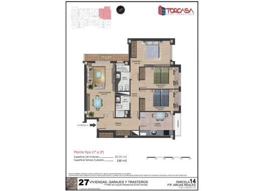 Venta pisos en covaresa las villas parque alameda por 139 for Pisos covaresa valladolid