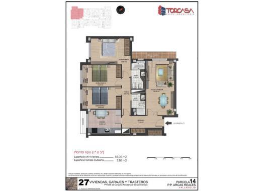 Venta pisos en covaresa las villas parque alameda por 148 for Pisos covaresa valladolid