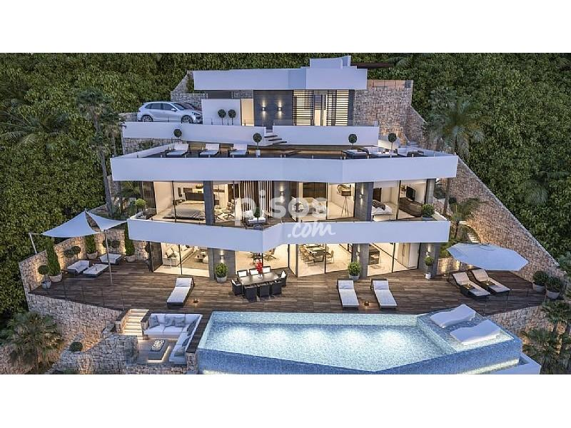 Casa en venta en benissa en benissa por for Pisos en benissa