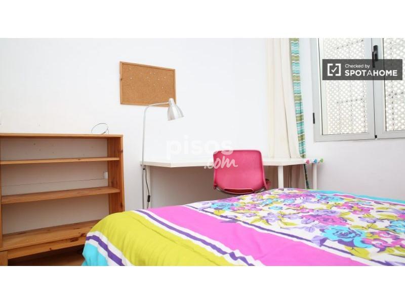 Habitaci n en alquiler en calle b jar n 6 en los for Alquiler piso los remedios