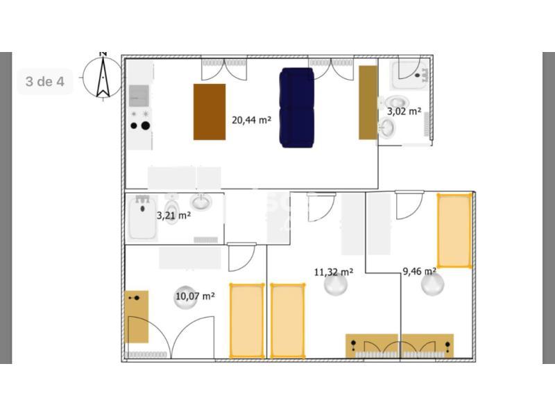 Piso en alquiler en valdezarza for Alquiler pisos valdezarza