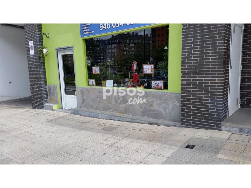 Local comercial en alquiler en calle jardines de gernika for Calle jardines bilbao