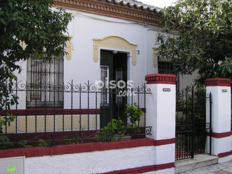 Casa pareada en alquiler en calle almirante enr quez n 3 - Casas en malaga capital ...